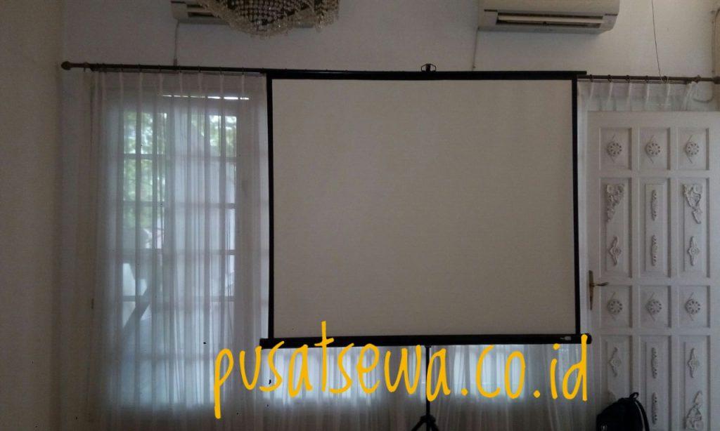 Harga Sewa Screen Proyektor Jakarta